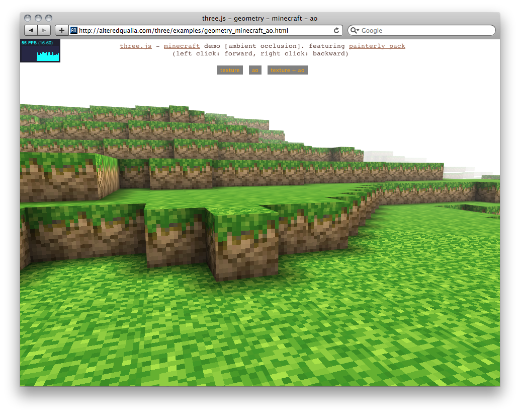 Minecraft-ish WebGL Demo Makes You Wonder What's Possible in HTML5